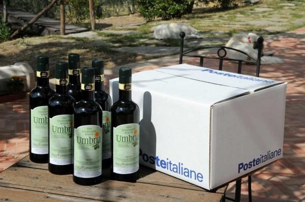 offerta bottiglie olio extravergine oliva DOP Umbria