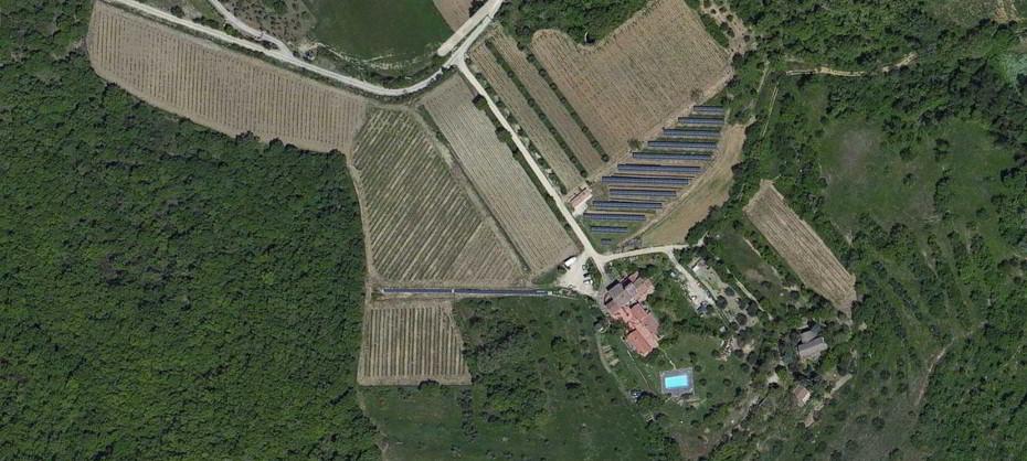 Foto aerea Agriturismo Preggio
