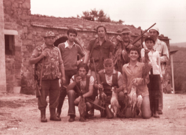 Podere Cignano, circa 1976