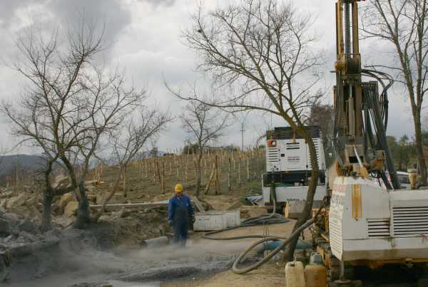 Perforazione pozzo acqua potabile