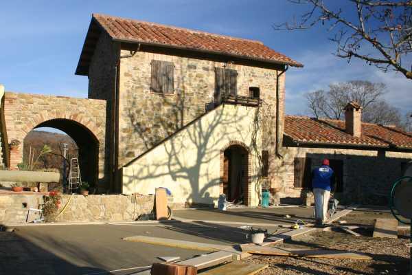 Lavori di ristrutturazione al Preggio