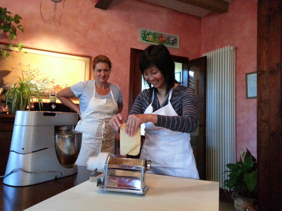 Cooking class in Umbria