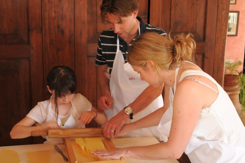 Cooking class in Umbria for children too