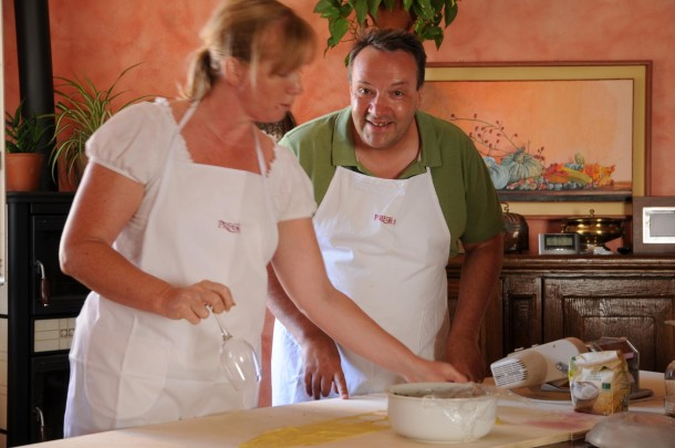 Just married cooking class