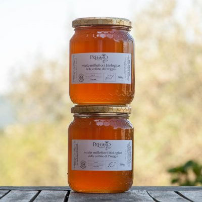 2 confezioni miele millefiori biologico