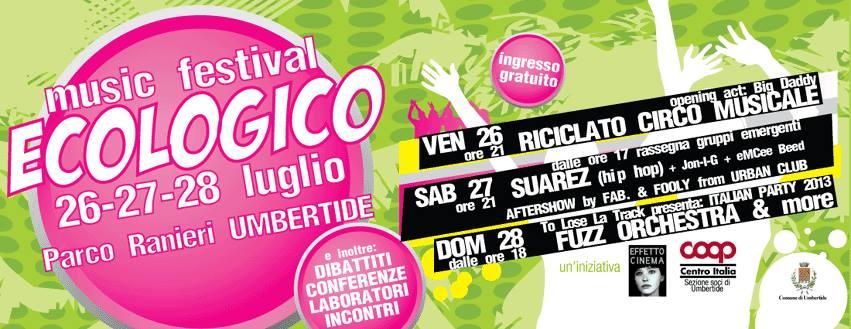 ecologico music festival